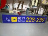 Signage Wayfinding входа выхода станции крытый нутряной подгонянный СИД метро