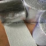 Лента сплетенная стеклотканью с алюминиевой фольгой