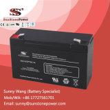 6V con válvula de plomo ácido Baterías , Mantenimiento UPS libre de baterías estacionarias