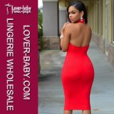 Шикарное Bodycon New Fashion Halter Evening Dress для Girls (L27776)
