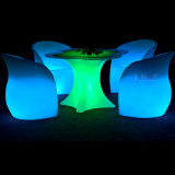 Lijst en Chair LED Furniture voor Resturant Hotels