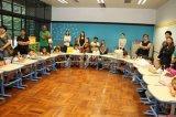 Cadeira de mesa quente Hya-103 do estudante do artigo da escola internacional de Macao