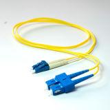 LC ao cabo de correção de programa frente e verso da fibra óptica da manutenção programada do PVC do Sc