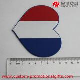 カスタム国旗パターン円形の中心の長方形パターンコースター