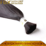 도매 6A Grade Virgin Straight Hair Bulk 인도 Hair Extension