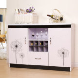 2016 Populaire Customized Wooden Wine Cabinet voor Woonkamer (fs-C014)