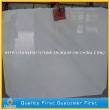 Mármol blanco puro Polished/azulejos blancos de la pared del suelo del mármol del jade