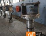 O anel vertical de Yufchina morre a máquina da pelota