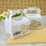 Belle caisse d'emballage de biscuits de gâteau de modèle
