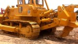 Hydraulic Tractor-Scraper Pump 3~5cbm Available_Ripper/Blade Caterpillar Giallo-Coat D8k Crawler Bulldozer