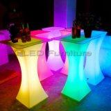 Tableau des meubles DEL de boîte de nuit de qualité avec des lumières dans le changement de couleur de RGBW