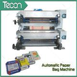 Avanzada completa automática del motor Driven válvula de la bolsa de papel instalaciones de fabricación