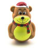 Медведь игрушек любимчика цыпленка собаки PU