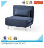 Base di sofà piegata tessuto moderno del posto unico