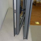 Ventana de aluminio del marco del perfil de la rotura termal revestida del polvo de la alta calidad Kz106