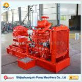 Pompe aspirante de caisse fendue de centrifugeur de moteur diesel double
