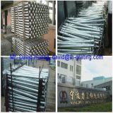 Puntales de acero galvanizados de la INMERSIÓN caliente para las barandillas de la escala y de la plataforma
