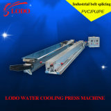 Lodo Water Cooling Hot Press Machine pour PVC PU Convoyeur à convoyeur