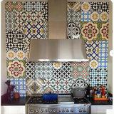 De mooie Binnenlandse Kleine Vierkante Ceramische Tegel van de Vloer voor Badkamers (20200012)