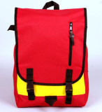 (KL024)広州の方法屋外ポリエステル旅行バックパック袋の高等学校学生のランドセル