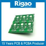 穴PCBのパネルを通したパネルの銀