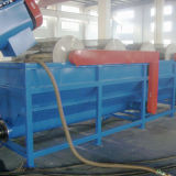 Lavadora plástica 500kg de la basura automática con la película de la certificación del Ce que recicla la línea