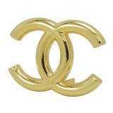 Logo fait sur commande de sac à main en métal d'or