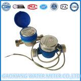 Lxsg-15-25는 제트기 건조한 다이얼 펄스 물 미터를 골라낸다