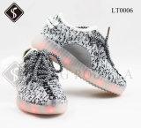 Het Bovenleer van Flyknit met Schoenen van de Sporten Schoenen van de HOOFD de Lichte van Jonge geitjes