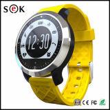 Teléfono móvil del reloj del modo de la natación del Sek del reloj elegante impermeable del IP 68 con el monitor del ritmo cardíaco para el teléfono