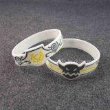 Bracelets spéciaux faits sur commande de silicium de logo avec le GV