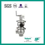 Válvula de inversión manual del acero inoxidable