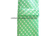 남자를 위한 검사 패턴을%s 가진 녹색 자카드 직물 실크 넥타이
