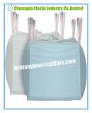 Bolso grande del recipiente de tamaño grande de la tela de los PP con los bucles laterales de la costura