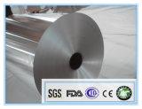 Legering 8011 70 van FDA Verklaarde van de Aluminiumfolie Microns Broodje van het Pakket
