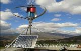 400W Maglev Wind Turbine en Zonnepaneel Hybrid System