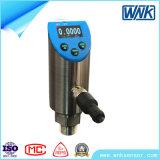 Transductor de presión sanitario del diafragma rasante industrial con la función del control de presión