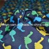 Tissu Chiffon d'impression de belle cire pour la robe/vêtement/Abaya