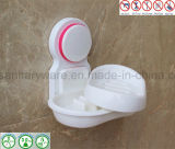An der Wand befestigtes Bathroom Accessories Soap Dish Holder mit Suction Cup