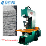 CE Certificate 70t Hydraulic Natural Face Cobble Stone Splitting Machine
