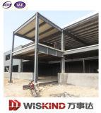 Edifício pré-fabricado claro da construção de aço 2016
