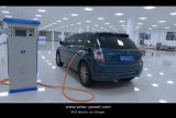 C.C. rápida que cobra o carregador de EV para o carro elétrico