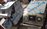 Wld1090-380V de draagbare Elektrische Wasmachine van de Auto van de Stoom van de Apparatuur van de Autowasserette van de Stoom van de Wasmachine van Auto Twee Gunjets