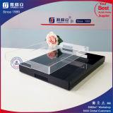 Form-Entwurf gedrucktes quadratisches Umhüllung-Tellersegment-Großverkauf-Acryl-acrylsauertellersegment