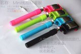 Cable Monopod Wired Selfie Stick para Taking Photos Mini W03