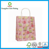 Подгонянный бумажный мешок ткани для покупкы
