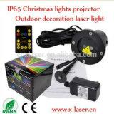 De rode Bewegende Verlichting van de Decoratie van de Werf van de Verlichting van het Gazon van de Verlichting van de Laser van de Tuin van de Punten van de Laser &Blue Openlucht