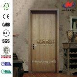 Porte en bois de luxe de panneau des forces de défense principale 2 d'artisan