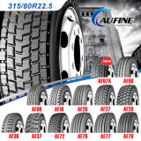 ECEの証明書が付いているすべての鋼鉄放射状のトラックのタイヤ(12R22.5、315/80R22.5)