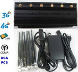 Cellulare Signal Jammer 15W Block 60m di Jammer 6 Band GSM 2g 3G 4G Lte 4G del segnale
